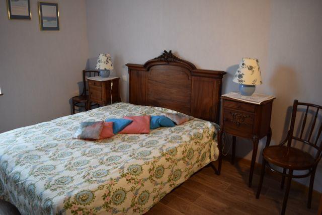 Chambre demi palier lit