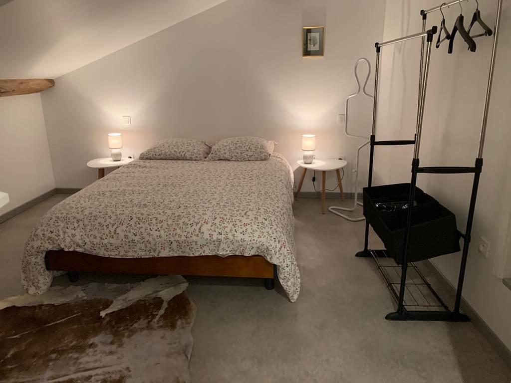 Chambre de l'annexe - Le vieux pressoir - Gîte Meuse